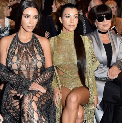 kourtney kardashian in Happy Birthday Kim Kardashian: 36 Of Her Best Moments This Year