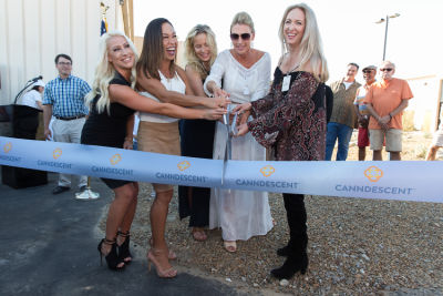 Canndescent Ribbon Cutting Event