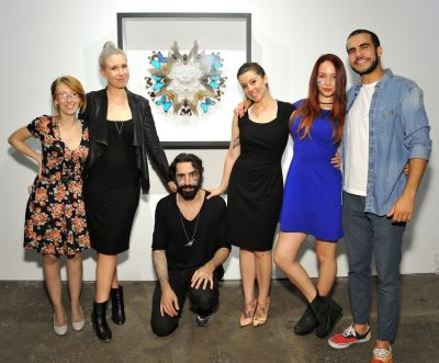 Cecil: A Love Story exhibition opening at Joseph Gross Gallery