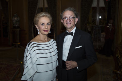 carolina herrera in The Frick Collection Autumn Dinner