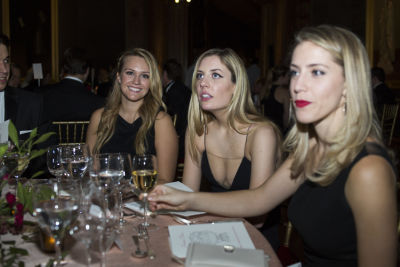 anna tadej in The Frick Collection Autumn Dinner