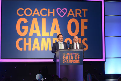 zander lurie in CoachArt Gala of Champions 2016