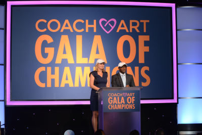 kay madati in Inside The CoachArt Gala Of Champions 2016