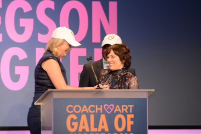 natasha gregson-wagner in CoachArt Gala of Champions 2016