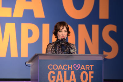 natasha gregson-wagner in Inside The CoachArt Gala Of Champions 2016