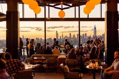15 All-Season Rooftop Bars To Drink This Fall In NYC