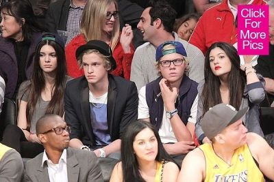 kendall jenner in Why Must Kendall Jenner Insist On Wearing Heels To Basketball Games?