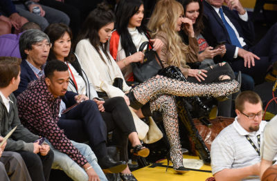 Why Must Kendall Jenner Insist On Wearing Heels To Basketball Games?