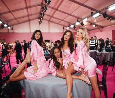 irina shayk in Your Backstage Look At The 2016 Victoria's Secret Fashion Show In Paris