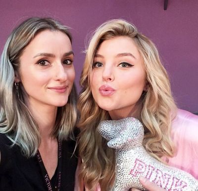 rachel hilbert in Your Backstage Look At The 2016 Victoria's Secret Fashion Show In Paris