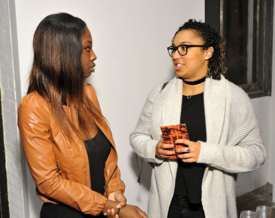 ama kwarteng in Orange Is The New Black exhibition opening at Joseph Gross Gallery