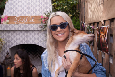michelle plantan in Mowgli Rescue & Rahicali's Furry Friendsgiving at The Butcher's Daughter