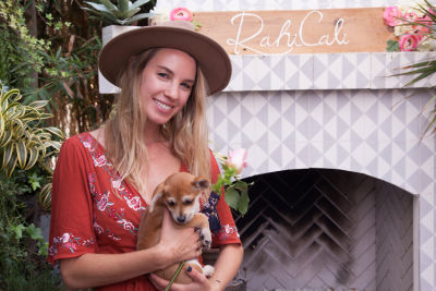 jessie de-lowe in Mowgli Rescue & Rahicali's Furry Friendsgiving at The Butcher's Daughter