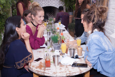 natalie boras in Mowgli Rescue & Rahicali's Furry Friendsgiving at The Butcher's Daughter