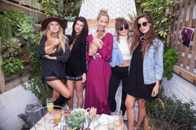 olivia jordan in Mowgli Rescue & Rahicali's Furry Friendsgiving at The Butcher's Daughter