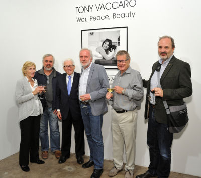 Tony Vaccaro: War Peace Beauty exhibition opening