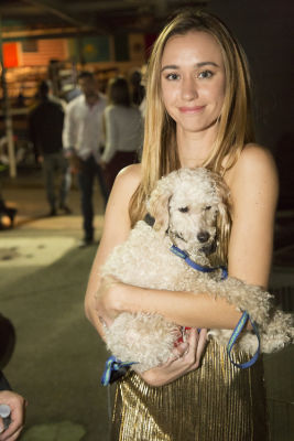 stefanie kay-meyer in Punches for Puppies: Mowgli Rescue's Fundraiser Event