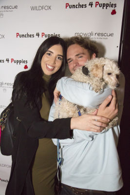 spencer morgan in Punches for Puppies: Mowgli Rescue's Fundraiser Event