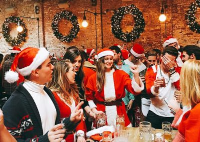 Instagram Round Up: SantaCon 2016 Invades NYC