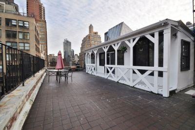 Rent This Tiny Farmhouse Hidden On A NYC Rooftop
