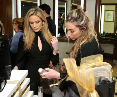 alison mcintyre in Dr. Lara Devgan Scientific Beauty Pop-up Shop & Holiday Reception at Bergdorf Goodman