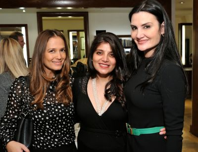 claudia avendano in Dr. Lara Devgan Scientific Beauty Pop-up Shop & Holiday Reception at Bergdorf Goodman