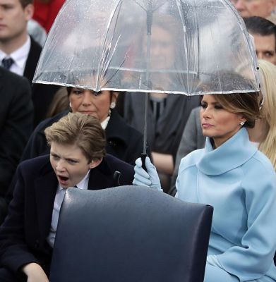 Barron Trump: Sleepiest, Most Over-It Kid In The World