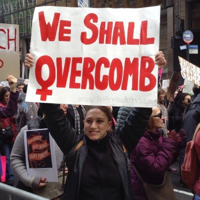 The BEST Signs From The Women's March In NYC