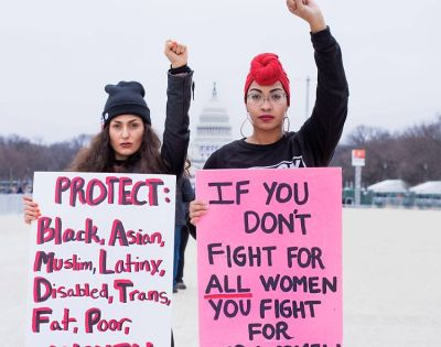 11 Women (& Men) Across The Country On Why They Marched
