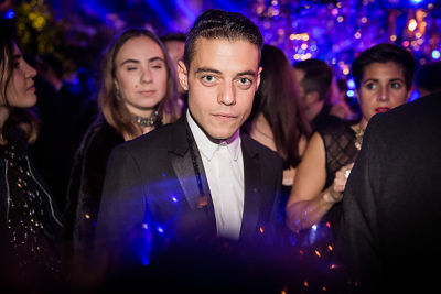 rami malek in Kendall Jenner & Bella Hadid Party At Dior's Extravagant Masked Ball