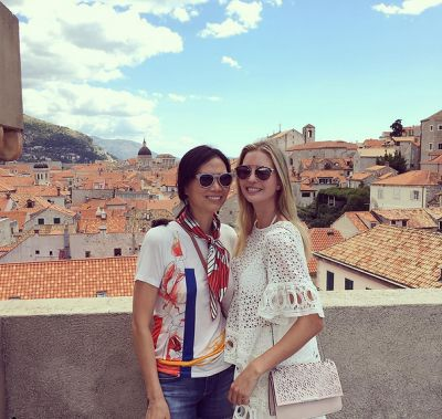 wendi murdoch in A Look At Ivanka Trump's Best Friend, Wendi Murdoch