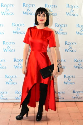 january barnes in The 6th Annual Silver & Gold Winter Party To Benefit Roots & Wings