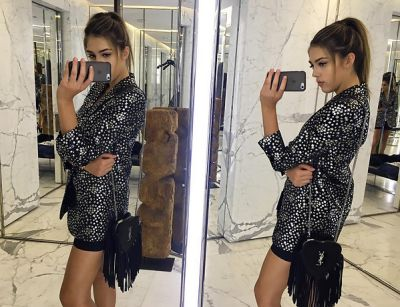 sistine stallone in Sistine Stallone Is Fashion's Newest It Girl