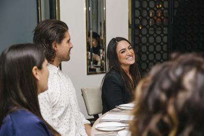 ramona saviss in Maven Bolt EV Los Angeles Announcement Dinner