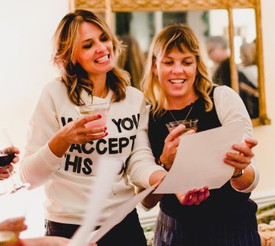 How Does Actress Alison Chace Create A Supportive Space For Women? A Salon Party!