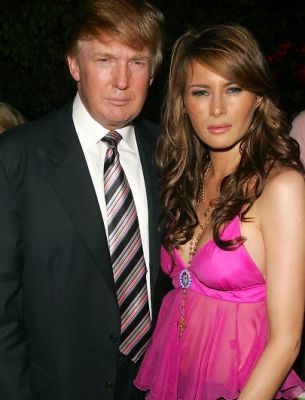 donald trump in A Look Back At Melania's Most Squinty Looks