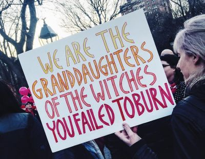 The Best Signs & Scenes From The Women's Strike In NYC