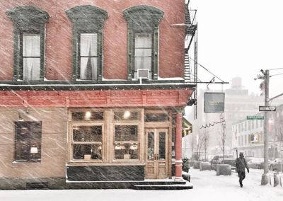 Scenes From A Blizzardy Morning In New York