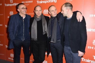 ewen bremner in Ewan McGregor & Jonny Lee Miller Reunite For