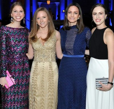Best Dressed Guests: The Frick Collection Young Fellows Ball 2017