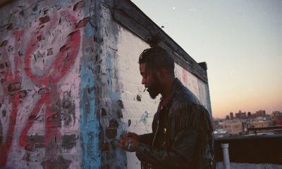 Musician & Visual Artist Gianni Lee Takes On His New Medium