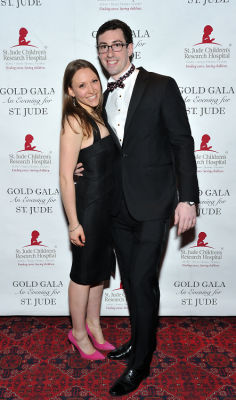 allister aaron in 6th Annual Gold Gala: An Evening for St. Jude - Part 1