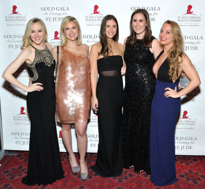 caitlin powers in 6th Annual Gold Gala: An Evening for St. Jude - Part 1