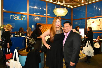 jessica sophia-wong in Naula Design 10 Year Anniversary at the Architectural Digest Design Show VIP Cocktail Party
