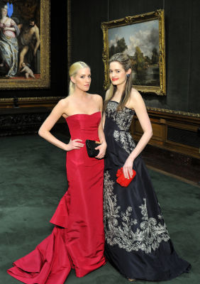 sarah bray in Best Dressed Guests: The Frick Collection Young Fellows Ball 2017