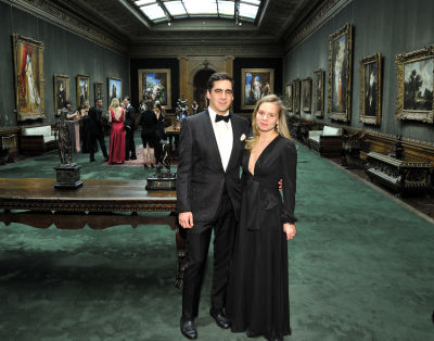 abby ledes in The Frick Collection Young Fellows Ball 2017