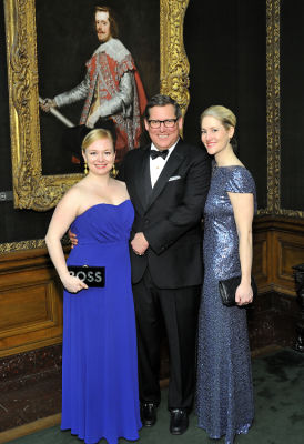 clare m-cosman in The Frick Collection Young Fellows Ball 2017
