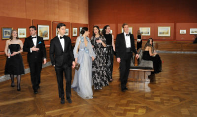 paige corbin in The Frick Collection Young Fellows Ball 2017