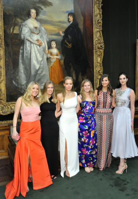 eleanor hamilton in The Frick Collection Young Fellows Ball 2017