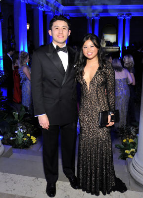 tony wang in The Frick Collection Young Fellows Ball 2017
